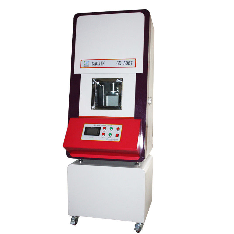 Battery Crush Test Equipment Hydraulic PLC Integrated Control 0~20KN Battery And Cell Lab Tester