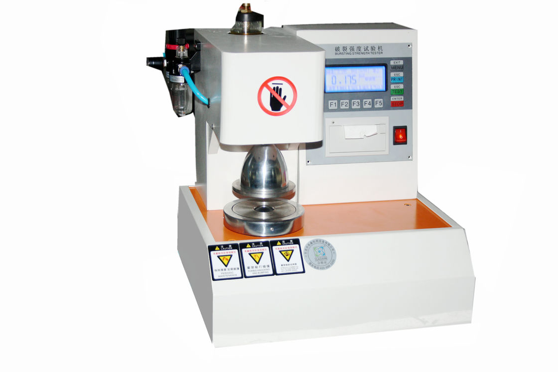 High Precision Smart Auto Board Bursting Strength Tester Paper Testing Machine