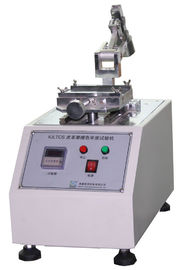 Çin IULTCS Leather Test Machine Color Fastness To Rubbing With Reciprocating Method Fabrika