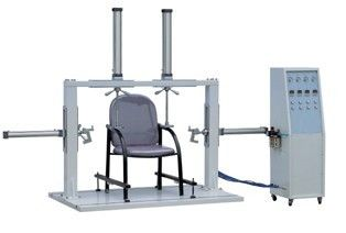 Çin Single Column Chair Testing Machine , Office Chair Armrest Strength Tester for Furniture Test Distribütör