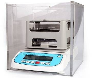 Specific Rubber Testing Equipment , Gravity Densimeter Electronic Density Tester